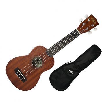 Custom Kala KA-15S Soprano Ukulele Satin Mahoganyw/Gig Bag