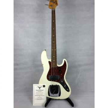 Custom Fender 1960 Relic Jazz Bass 2016 Aged Olympic White