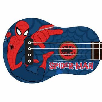 Custom Peavey Marvel Univers Ukelele/Uke Kid's - Spiderman