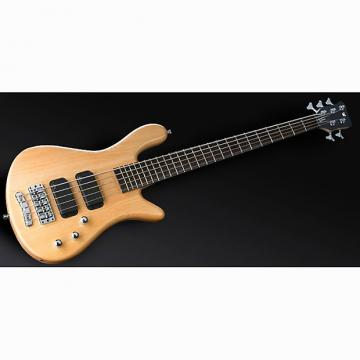 Custom Warwick RockBass RB Streamer 5-String Passive Electric Bass Guitar Natural Satin