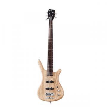 Custom Warwick German Pro Corvette Ash Electric Bass Natural Trans Satin - GPS124590PPASHFR