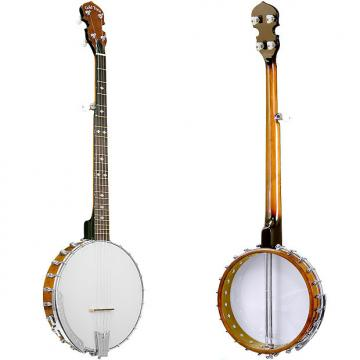 Custom Gold Tone CC-100+ Cripple Creek Banjo (Five String, Vintage Brown)