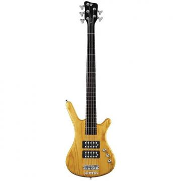 Custom Warwick Corvette Rockbass $$ Bass Guitar (5 String, Oil Finish, Honey Violin)