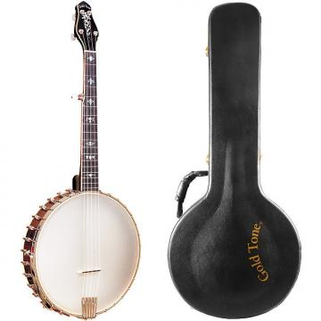 Custom Gold Tone CEB-5 Cello Banjo (Octave Lower, Five String, Vintage Mahogany) with Hard Case