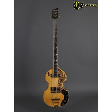 Custom Hofner 5000/1B Super Beatles Bass 1972 Natural