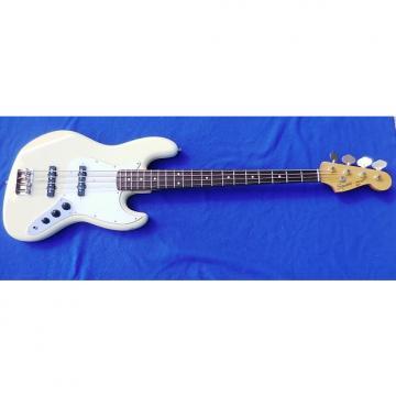 Custom Fender Squire Jazz Bass Japan White MIJ