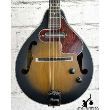 Custom Ibanez M510E A-Style Acoustic-Electric Mandolin Open Pore Vintage Sunburst