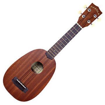 Custom Makala Pineapple soprano ukulele