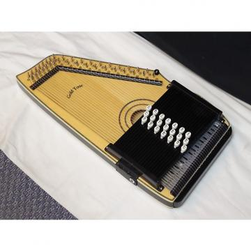 Custom GOLD TONE Chord-A-Harp ELECTRIC autoharp NEW w/ Bag