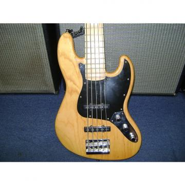 Custom KSD PROTO J 5 STRINGBASS GUITAR 2007 Natural Ash