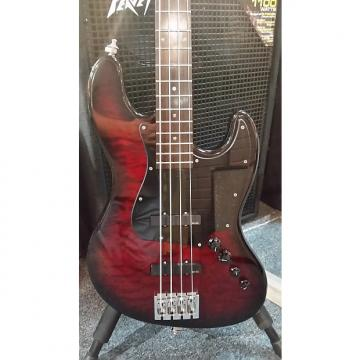 Custom Schecter Diamond California Custom 4 J-bass 2003 Black Cherryburst. Modified