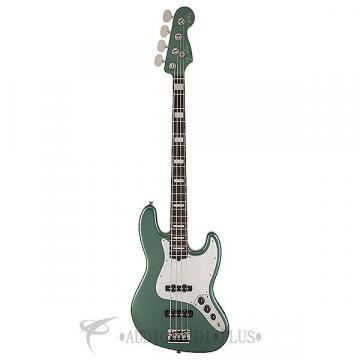 Custom Fender Adam Clayton Jazz Electric Bass Guitar Sherwood Green Metallic - 0190090846 - 885978544073