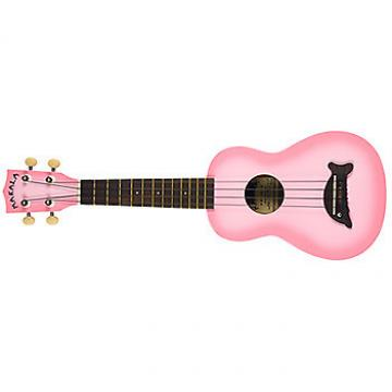 Custom Ukulele by Makala soprano model in Pinkburst finish with Dolphin bridge