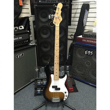 Custom G&L  LB-100 4 String Electric Bass 2016 Made in USA 2 Tone Sunburst 7.2 lbs