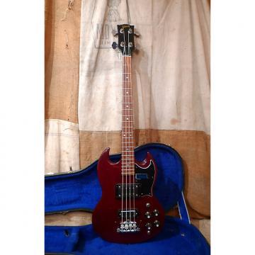 Custom Gibson EB-3 1978 Cherry Red