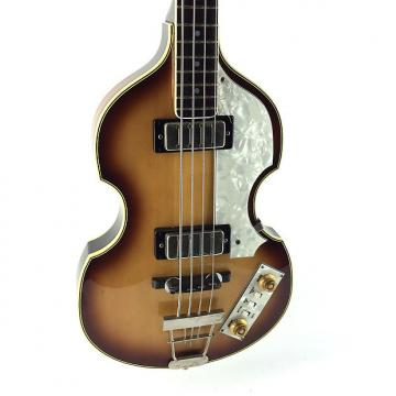Custom Greco Violin Bass, VB500, Sunburst, 1979, Paul McCartney