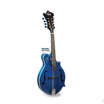 Custom Morgan Monroe Mandolin Its like nothing else (Blue Denim) MODEL: MM-300BL