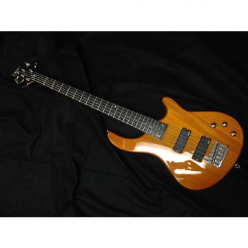 Custom Used Dean Edge  E1-5 Bass Transparent Amber
