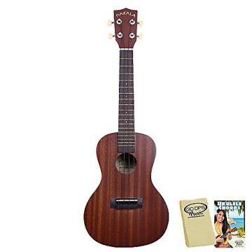 Custom Kala Makala MK-C Concert Ukulele with GoDpsMusic Ukulele Chord Guide and Polish Cloth