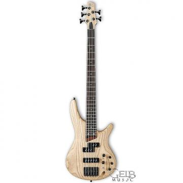 Custom Ibanez SR655NTF Electric Bass 5 String Natural Flat Finish - SR655NTF