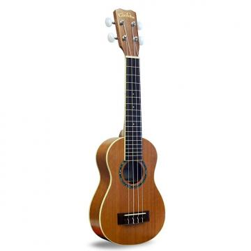 Custom Cordoba 15SM with Cordoba Deluxe Gig Bag - Soprano Ukulele - Mahogany