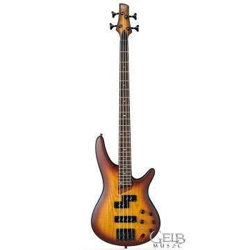 Custom Ibanez SR650BBF Electric Bass 4 String Brown Burst Flat Finish - SR650BBF