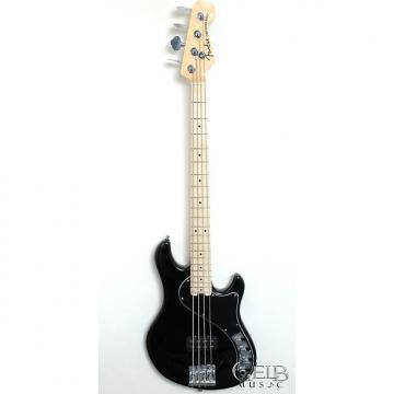 Custom Fender American Deluxe Dimension Bass IV Electric Bass Guitar in Black W/Case - 0195402706