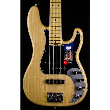 Custom Fender American Elite Precision Bass Ash with Maple Neck - Natural Finish