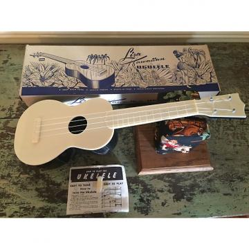 Custom 1950s Vintage Lisa Plastic Soprano Ukulele - NOS / Mint with Box And Manual.