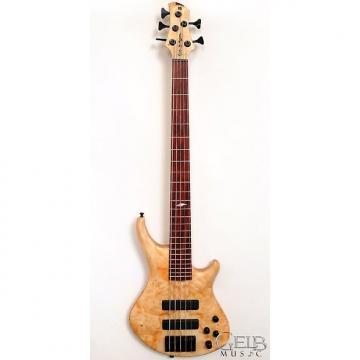 Custom Roscoe Custom 5 string Electric Bass, Boxelder Burl Top, Bartolini Pickup - FSR-6650