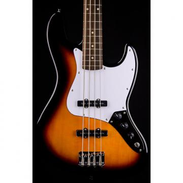 Custom Squier Affinity Jazz Bass, Rosewood Fingerboard, Brown Sunburst