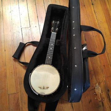 Custom Slingerland May Bell Banjo Ukulele 1920's Bird's Eye Maple w/Modern Polyfoam Case