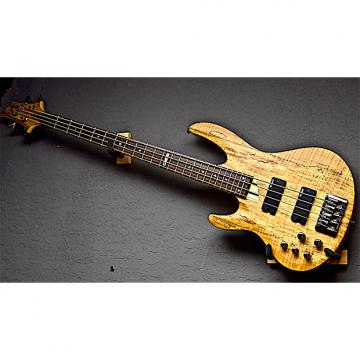 Custom ESP LTD Left Handed B-204SM NS 2015 Natural Satin Lefty Bass