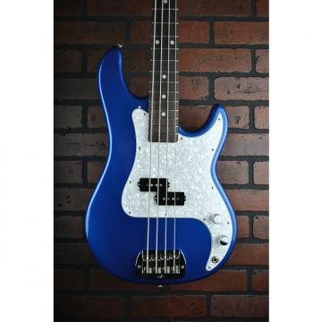 Custom G&L LB-100 w/ deluxe case - Midnight Blue Metallic - Made in USA 2016