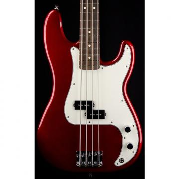 Custom Fender Standard Precision Bass, Rosewood Fingerboard, Candy Apple Red, 3-Ply Parchment Pickguard