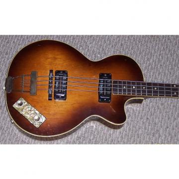 Custom Hofner  Club Bass 1966 Sunburst