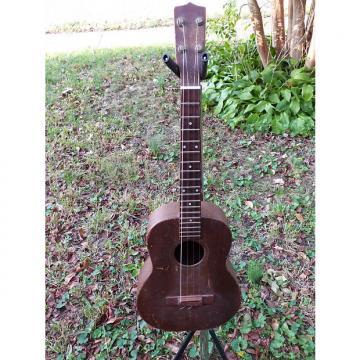 Custom Uke Ukelele baritone mahogany  natural