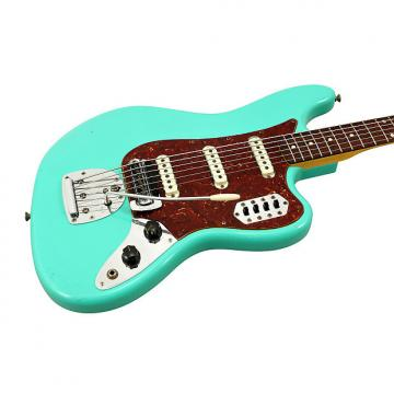 Custom Fender Custom Shop Bass VI Journeyman Relic Seafoam Green