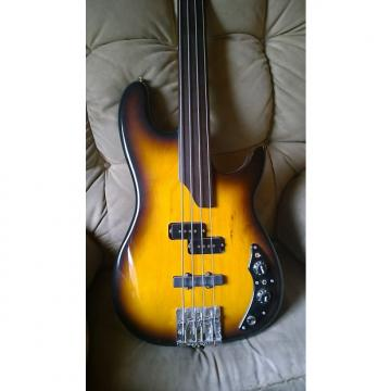 Custom Ralph Novak custom fretless bass guitar