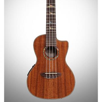 Custom Luna High Tide Concert Koa Acoustic-Electric Ukulele