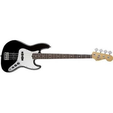 Custom Fender American Standard Jazz Bass (Black, Rosewood Fingerboard) Used