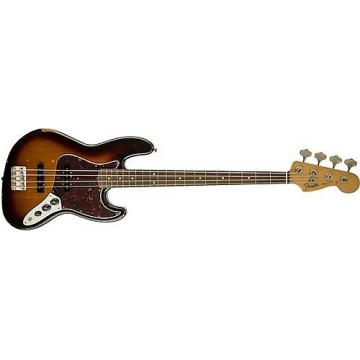 Custom Fender Road Worn '60s Jazz Bass (3-Tone Sunburst) Used