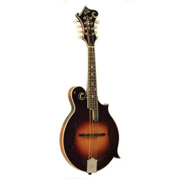 Custom The Loar LM-600-VS Professional Series Gloss Vintage Sunburst F-Style Mandolin with Hand-Carved Top
