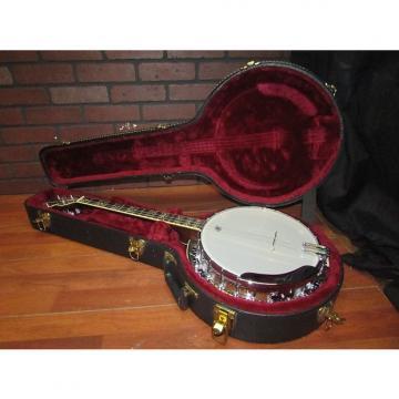 Custom OME Juggernaut 1 4 string Tenor Banjo Near Mint w/ Case