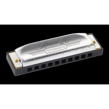 Custom Hohner 560PBX-E Key of E Special 20 Progressive Harmonica  - Ships FREE U.S.