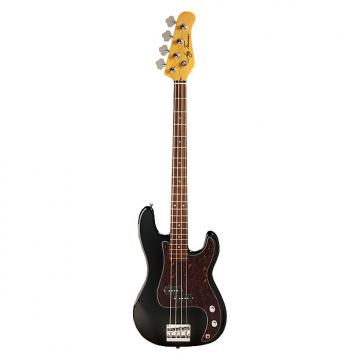Custom Jay Turser JTB-400C Series Electric Bass Guitar, Black