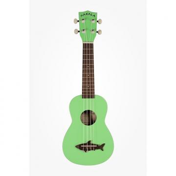 Custom Kala Shark Ukulele Surf Green