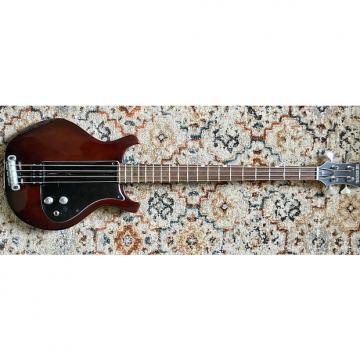 Custom Dan Armstrong London Bass 1977 red