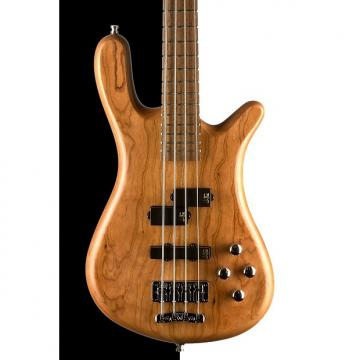 Custom Warwick German Pro Series Streamer LX Electric Bass, Natural Satin