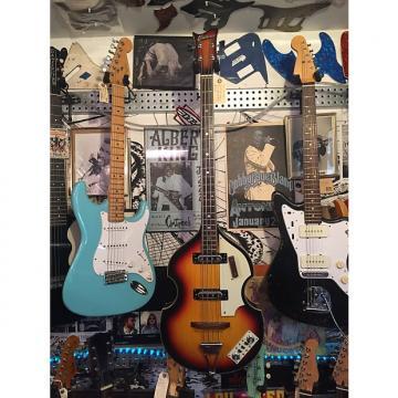 Custom 1960s Univox 'Lectra Bass (Hofner 500/1 Lawsuit, Violin/Beatle Bass) See Video